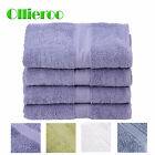 Ollieroo New 4 Extra Large Premium Bath Sheet Towels 100% Cotton Ring Spun Soft