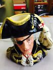 Royal Doulton Character Jug Vice-Admiral Lord Nelson D6932