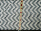 Moda Fabrics SimplyColor v and co grey chevron zigzag cotton quilting sew SALE!