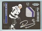 DREW DOUGHTY 2011 12 PANINI CONTENDERS CUP CONTENDERS 3 COLOR PATCH AUTO 100
