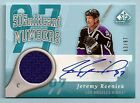 JEREMY ROENICK 2005 06 SP GAME USED SIGNIFICANT NUMBERS JERSEY AUTOGRAPH 97