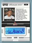 STAN MUSIAL 2003 PLAYOFF PORTRAITS SIGNATURE AUTOGRAPH AUTO 35 CARDINALS