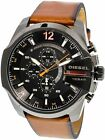Diesel Men's DZ4343 Brown Leather Quartz Fashion Watch