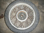 REAR WHEEL RIM TIRE HUB 1976 HONDA CB400F SUPER SPORT CB400 F FOUR 76