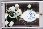 06-07 2006-07 ULTIMATE COLLECTION SIDNEY CROSBY SIGNATURES AUTOGRAPH SC PENGUINS