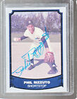 *PHIL RIZZUTO* 1988 Pacific Baseball Legends Hand-Signed Auto NEW YORK YANKEES