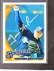 *TREVOR HOFFMAN* 2009 Topps Hand-Signed Auto SAN DIEGO PADRES