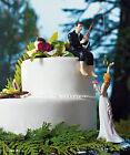 Hooked on Love Fishing Couple WEDDING Cake Topper CUSTOMIZATION Available