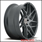 19 BLAQUE DIAMOND BD3 CONCAVE WHEELS RIMS GRAPHITE FITS INFINITI G35 COUPE