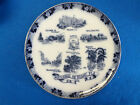 Vintage Flow BLue souvenir plate from Miami Florida