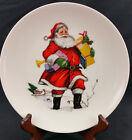 Kelgen China Scala Glass Co. Santa Claus Decorative Plate New Castle PA