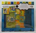 Colorbok BAREFOOT 12x12 Scrapbook Album Kit 16 sheets 6 chipboard accents