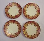 Crate & Barrel Volante Appetizer / Bread & Butter Plates - Italy - Set of 4
