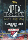 2015 Topps APEX MLS Soccer Unopened Factory Blaster Box GUARANTEED Autograph