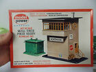 Model Power HO Scale Signal Tower Power Station Kit Train Layout Building