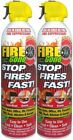 New! Fire Gone 2NBFG2704 White/Red Fire Extinguisher - 16 oz., (Pack of 2)