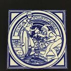 Mintons China Works - Signed John Moyr Smith - Fairy Tale Tile - Rumpelstilzchen
