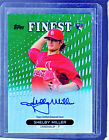 *SHELBY MILLER* 2013 Finest GREEN Refractor RC Auto *# 125* ST LOUIS CARDINALS