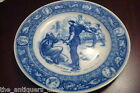 Dinner Plate in Ivanhoe (Flow Blue) by Wedgwood , Front de Boeaf [2esq]