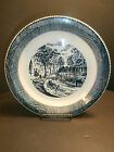 Royal China Co Currier & Ives Pie Plate 10