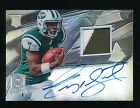 GENO SMITH 2013 PANINI SPECTRA ROOKIE SIGNATURE PATCH RC AUTO 78 99 *NY JETS*