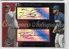 2006 TOPPS COSIGNERS PRINCE FIELDER & RYAN ZIMMERMAN DUAL AUTO