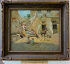 AUTHENTIC ANTONIO BARONE (1889-1971) OIL CANVAS
