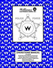 Police Force Pinball Operations/Service/Repair Manual/Arcade Machine Williams