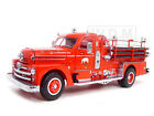 1958 SEAGRAVE 750 FIRE ENGINE TRUCK RED W ACCESSORIES 124 ROAD SIGNATURE 20168