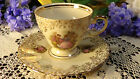 Courting Couple w Gold Filigree Scarce Spenzo Amsterdam Teacup & Saucer Set