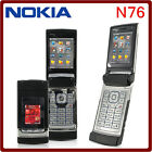 NOKIA N76 UNLOCKED GSM 3 COLOR 2MP BLUETOOTH SYMBIAN FLIP MOBILE PHONE CELLPHONE