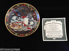 6th & Final Issue Treats for Santa Little Helpers Cat Bradford Collector Plate