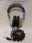 Vintage PLAYBACK 10 8 Ohm Wired Stereo Headphones works well MADE  in JAPAN