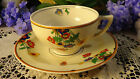Gorgeous Art Deco W. H. Grindley Sheraton Ivory Tea Cup & Saucers~Multiples