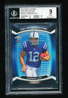 BGS 9 ANDREW LUCK 2012 TOPPS CHROME RED ZONE ROOKIES BLUE REFRACTOR RC #D 38 50