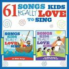 VARIOUS ARTISTS 61 SONGS KIDS REALLY LOVE TO SING NEW DVD