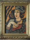 Hugo Schei - Original painting . Vintage wonderful wonderful painting