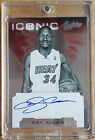 2012-13 Panini Absolute Ray Allen Iconic Signatures On Card Auto 18 25
