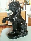 Vintage  MID-CENTURY MODERN Panther Pottery Lamp
