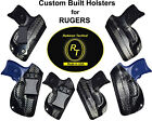 IWB Holsters for Rugers Carbon Fiber Kydex for deep Concealed Carry Custom