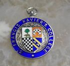 Stunning Vintage Sterling Silver Watch Fob / Medal - ST FRANCIS XAVIERS - 912