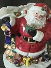 Gorgeous Fritz And Floyd Figural Christmas Santa Pitcher