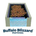 Buffalo Blizzard 30 x 50 Rectangle Swimming Pool Leaf Net Winter Cover
