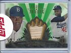 JACKIE ROBINSON 2013 TOPPS TRIBUTE TO THE THRONE BAT RELIC GRN 19 25 #THRONE-JR