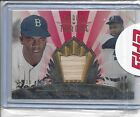 JACKIE ROBINSON 2013 TOPPS TRIBUTE TO THE THRONE BAT RELIC RED #1 10 #THRONE-JR