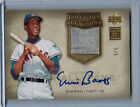 2005 Upper Deck Hall of Fame Gold ERNIE BANKS Autograph Jersey #5 5 #EB1 (5126)