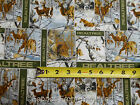 Realtree Winter Bucks Deer  Scenic Camo Camouflage BY YARDS 100% Cotton fabric
