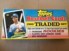 1989 Topps Traded Set Promising Rookies Ken Griffey Jr Opened Great Condition
