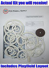 1957 Gottlieb Royal Flush Pinball Machine Rubber Ring Kit