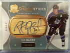 14 15 UD The Cup Scripted Sticks Rob Blake 11 35 Game - Used Stick